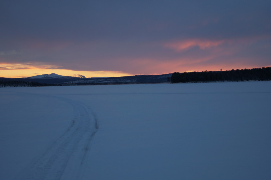 towards Kiruna